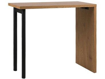 Carryhome: Tisch, Schwarz, Eiche, B/H/T 60 105 120