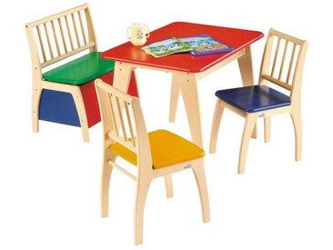 Geuther Kindersitzgruppe Bambino Bunt, Mehrfarbig, Holz