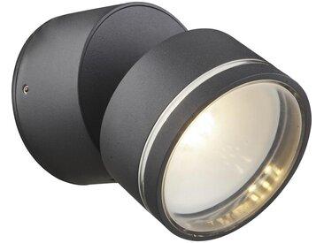 XXXLutz LED-AUßENLEUCHTE, Weiß, Metall, 50 mm, 10 cm