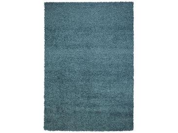 Novel HOCHFLORTEPPICH 200/290 cm gewebt Blau , Uni, 200x290 cm