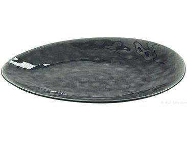 ASA SERVIERPLATTE, Grau, Keramik, Uni, 34x28 cm