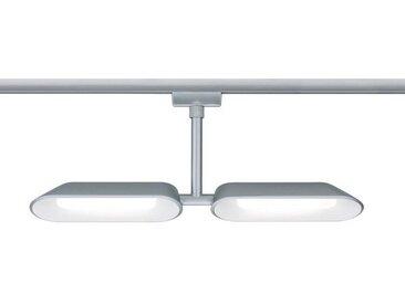 Paulmann Licht URAIL SCHIENENSYSTEM-STRAHLER , Silber, Metall, 37.5x17.0x2.6 cm