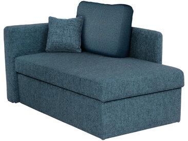 Livetastic LIEGE Blau , Uni, 3-Sitzer, 142x90x87 cm