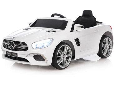 XXXLutz KINDERAUTO JAMARA Mercedes-Benz SL 400 , Schwarz, Silber, Weiß, Kunststoff, 63x45 cm