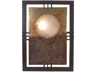 XXXLutz WANDLEUCHTE, Braunfarben, Beige, Holz, Metall, 60x180 cm