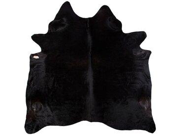 Linea Beigea RINDERFELL 160/250 cm Schwarz , Fell, Echtleder, Tier, 160 cm