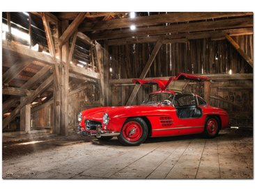 Wiedemann ALUMINIUMBILD Fahrzeuge , Mehrfarbig, Metall, Kunststoff, 120x80 cm