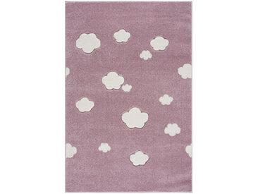 XXXLutz KINDERTEPPICH 120/180 cm Rosa , Wolken, 120 cm
