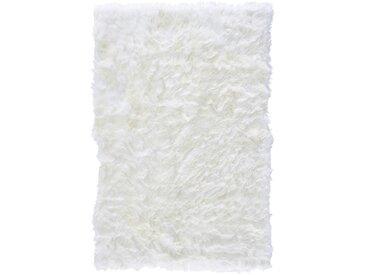Linea Beigea SCHAFFELL 100/150 cm Weiß , Uni, 100x150 cm