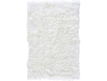 Linea Beigea SCHAFFELL 100/150 cm Weiß , Uni, 100 cm