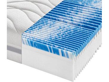 Sleeptex Partnermatratze Komfortschaum Höhe ca. 22 cm , Weiß, H2+H2=mittel bis ca.80kg, 180x200 cm