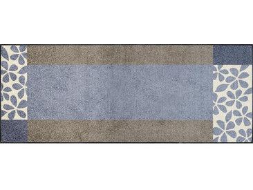 Esposa FUßMATTE 75/190 cm Graphik Grau, Beige , 75x190 cm