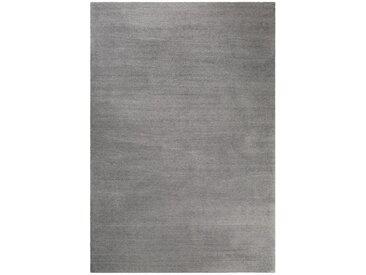 Esprit HOCHFLORTEPPICH 130/190 cm getuftet Grau , Uni, 130 cm