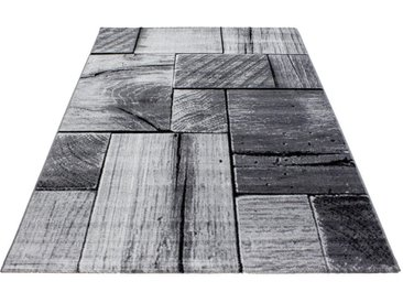 Novel WEBTEPPICH 160/230 cm Schwarz , Holz, 160 cm