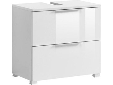 Xora WASCHBECKENUNTERSCHRANK Weiß , 60x54x35 cm