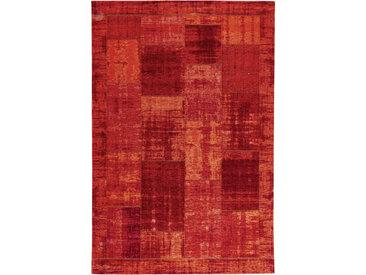 Novel FLACHWEBETEPPICH 130/190 cm Rot , Vintage, 130 cm