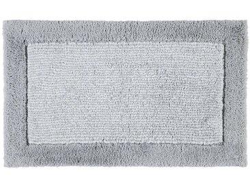 Cawoe BADTEPPICH Grau 70/120 cm , Streifen, 70x120 cm