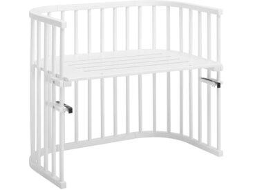 Babybay BEISTELLBETT Babybay Maxi Buche massiv Weiß , Holz, 54x79 cm