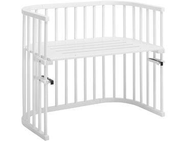 Babybay BEISTELLBETT Babybay Maxi Buche massiv Weiß , Holz, 54x79x94 cm