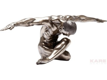 Kare-Design SKULPTUR, Orange, Metall, Kunststoff, 137x40x47 cm