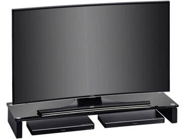 Livetastic TV-AUFSATZ Glas Schwarz , 110x12.2x35 cm