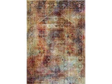 Novel VINTAGE-TEPPICH 130/190 cm Mehrfarbig , Abstraktes, 130x190 cm