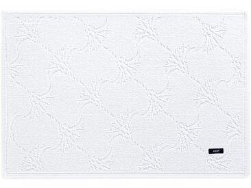 Joop! BADTEPPICH Weiß 70/120 cm , Ornament, 70x120 cm