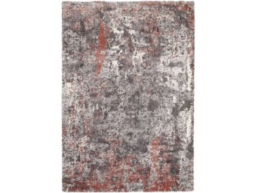 Novel VINTAGE-TEPPICH 160/230 cm Grau, Rot , Abstraktes, 160 cm