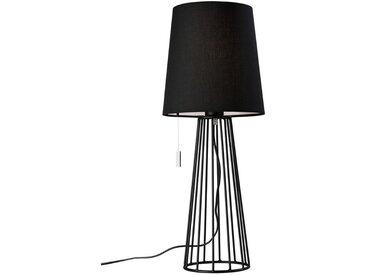Tischleuchte, Schwarz, H 59