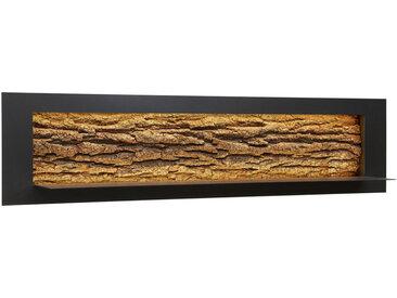 Valnatura WANDBOARD Kerneiche vollmassiv Braun , Holz, Metall, 141x33.5x29 cm