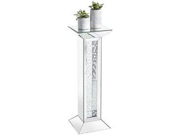 Xora DEKOSÄULE Glas , Grau, 30.5x89x30.5 cm