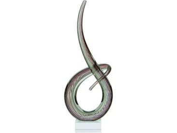 Leonardo SKULPTUR, Mehrfarbig, Glas, 20x50x10 cm