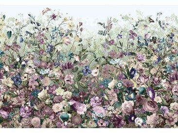 XXXLutz VLIESTAPETE , Mehrfarbig, Papier, Blume, 368x248xcm cm