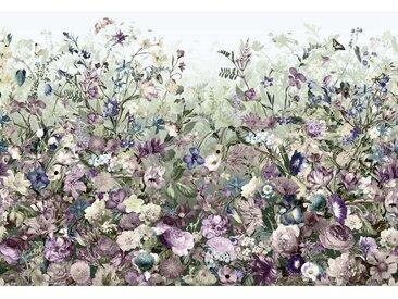 XXXLutz VLIESTAPETE , Mehrfarbig, Papier, Blume, 368x248 cm