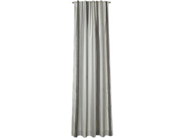 Joop! FERTIGVORHANG blickdicht 130/250 cm , Grau, Beige, Streifen, 130x250 cm