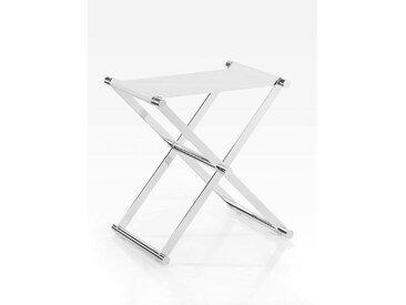 Joop! KLAPPHOCKER Weiß, Silber , Metall, 34.5x45x45 cm