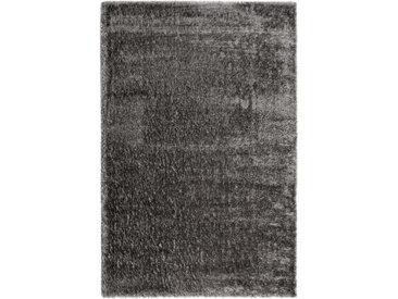 Esprit HOCHFLORTEPPICH 133/200 cm gewebt Grau, Grau , Uni, 133 cm