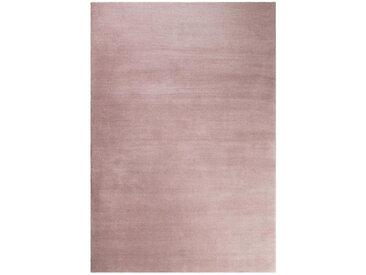 Esprit HOCHFLORTEPPICH 200/200 cm getuftet Rosa , Uni, 200x200 cm