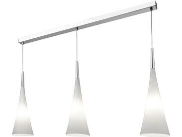 Villeroy & Boch HÄNGELEUCHTE, Weiß, Chrom, Metall, Glas, 16x150 cm