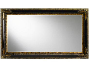Landscape WANDSPIEGEL Schwarz, Gold , Holz, Glas, 79.4x139.4x4.6 cm