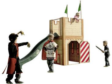 XXXLutz Spielturm Arthur , Braun, Holz, Zeder, 319x110x195 cm