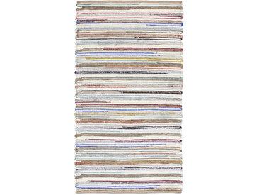 Linea Beigea Wollteppich 170/230 cm Mehrfarbig , Mehrfarbig, Streifen, 170 cm