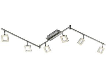 Novel LED-STRAHLER , Silber, Silber, Silber, Metall, Kunststoff, 8x21.5x180.5 cm