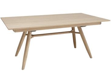 Voglauer ESSTISCH Eiche furniert, mehrschichtige Massivholzplatte (Tischlerplatte) rechteckig Braun , Holz, 100x76.5 cm