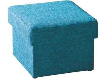 Livetastic SITZWÜRFEL Webstoff Blau , 55x45x55 cm