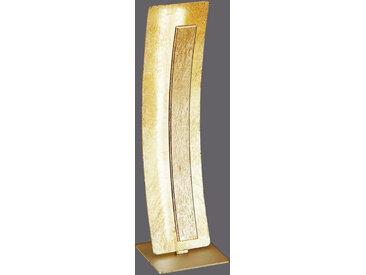 XXXLutz LED-TISCHLEUCHTE , Gold, Metall, 12x40.5 cm