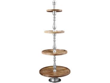 XXXLutz ETAGERE, Holz, Metall, Mangoholz, 130 cm