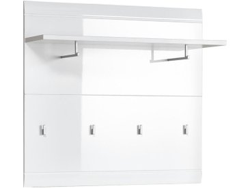 Carryhome GARDEROBENPANEEL Weiß , 96x90x29 cm