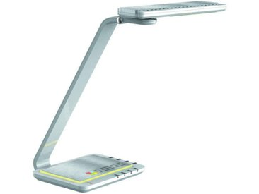XXXLutz LED-TISCHLEUCHTE , Silber, Kunststoff, 21.8x48x24.3 cm
