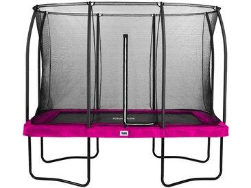 XXXLutz Trampolin Salta Comfort 214/305 cm Rosa , Metall, 214x305 cm